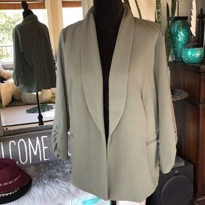 2X Maurice's light open Blazer
